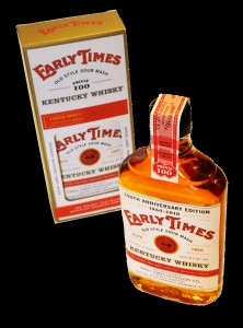 Early Times Whisky 150th Anniversary 100 proof Limited Edition Bottle