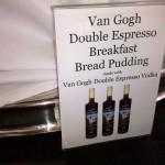 Van Gogh Vodka Double Espresso Breakfast Bread Pudding