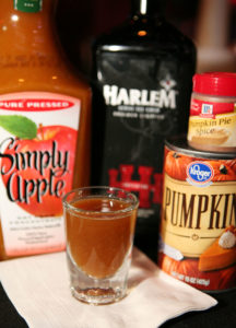 Harlemween Pumpkin HARLEM Shot Recipe