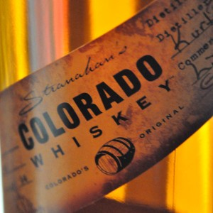 Stranahan's whiskey label Colorado