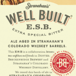 Stranahan's Well Built ESB Breckenridge Brewery Beer
