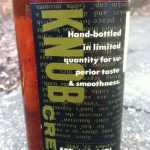 Knob Creek Rye label