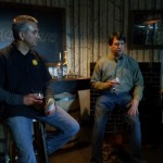 Pete Macca, General Manager Stranahan's Distillery and Todd Usry, Brewmaster of Breckenridge Distillery host a small tasting with media and friends giving them the first look at Stranahan's Well Built E.S.B. Beer