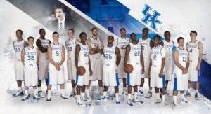 UK Basketball Team Photo 2012