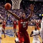 University of Louisville Cardinals vs. University of Kentucky Wildcats in the NCAA Final Four NCAA