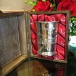 Each Silver Mint Julep cup will be individually numbered and presented in the signature Woodford Reserve casing made from the same wood as Woodford Reserve barrels