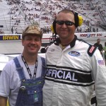 Moonshiner Tim Smith appears at Darlington Raceway, South Carolina