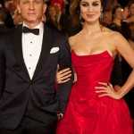Daniel Craig and Bérénice Marlohe at the Skyfall Red Carpet Premiere in London's Royal Albert Hall
