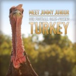 Jimmy Junior, Wild Turkey's Football Game-Picking Turkey