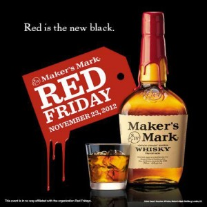 Red Friday Maker's Mark Bourbon