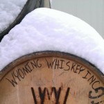A barrel of Wyoming Whiskey Bourbon