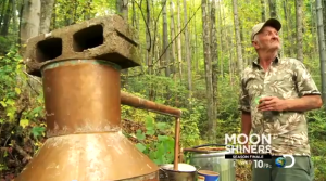 Jim Tom in Moonshiners Finale on Discovery Channel