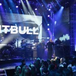 Pitbull Performs at Dick Clark's New Years Rockin Eve