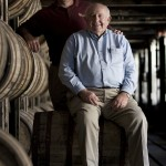 Master Distiller Jimmy Russell and , Associate Master Distiller Eddie Russell of Wild Turkey Bourbon
