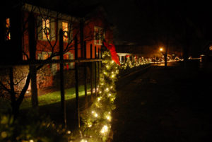 Makers Mark Holiday decorations
