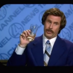 Ron Burgundy I Love Scotch