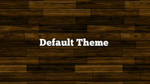 Default Theme