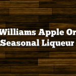 Evan Williams Apple Orchard Seasonal Liqueur