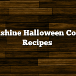 Moonshine Halloween Cocktail Recipes