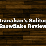 Stranahan's Solitude Snowflake Review
