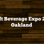 Craft Beverage Expo 2016 Oakland