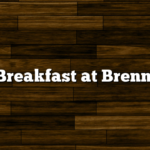 Breakfast at Brenn