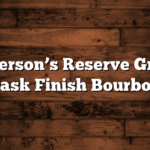 Jefferson's Reserve Groth Cask Finish Bourbon