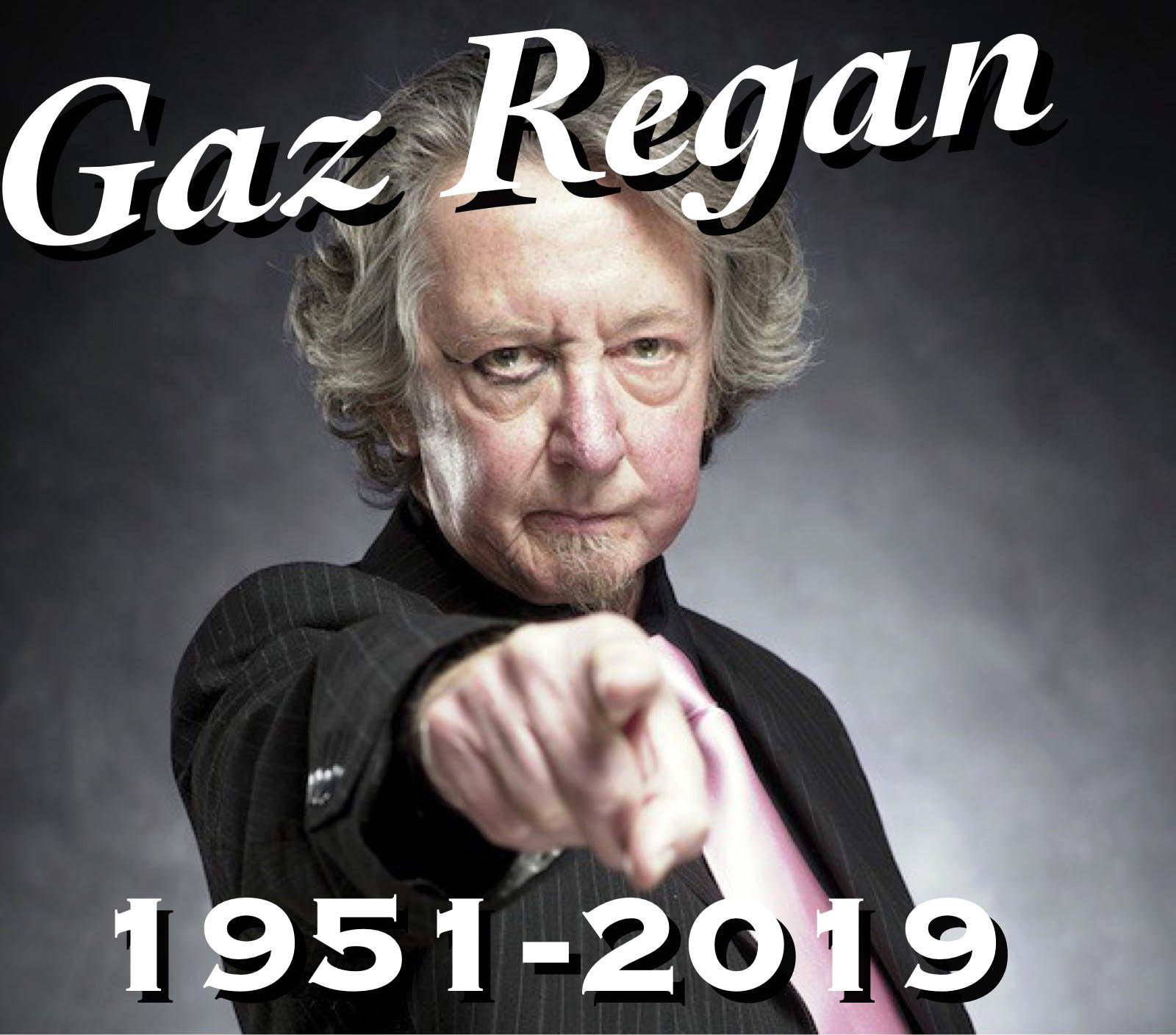 Gaz Regan dies