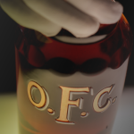 OFC Bourbon whiskey