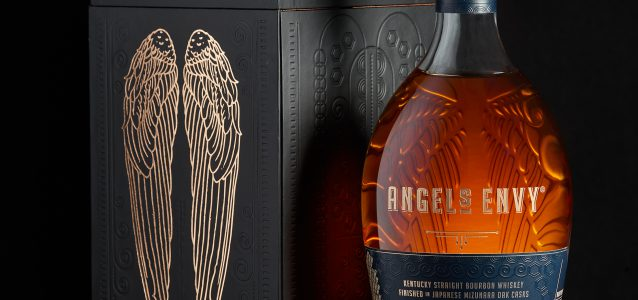 Angels Envy Mizunara Bourbon Whiskey
